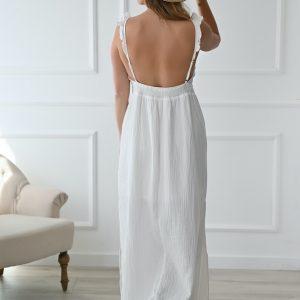 Robe longue Gaze de coton Georgia