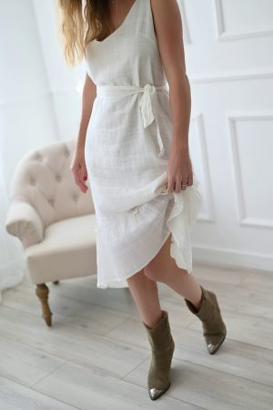 Robe valentine voile de coton
