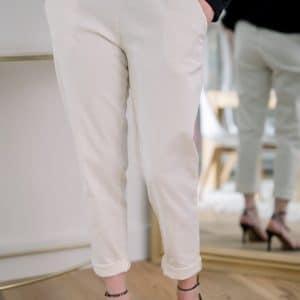 Pantalon chino beige Alban