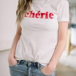 tee shirt chérie