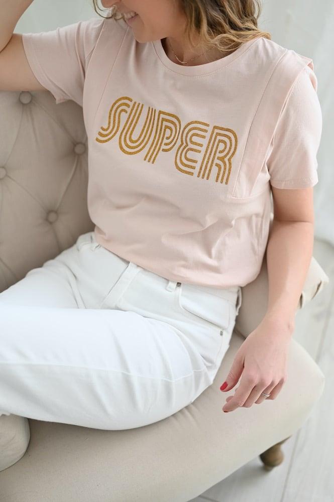 Tee shirt Super rose ma collection capsule4 - Lookbook