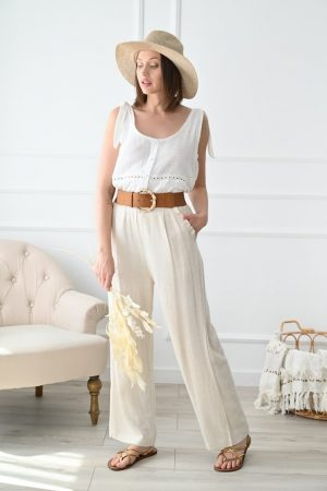 Pantalon lin Eros