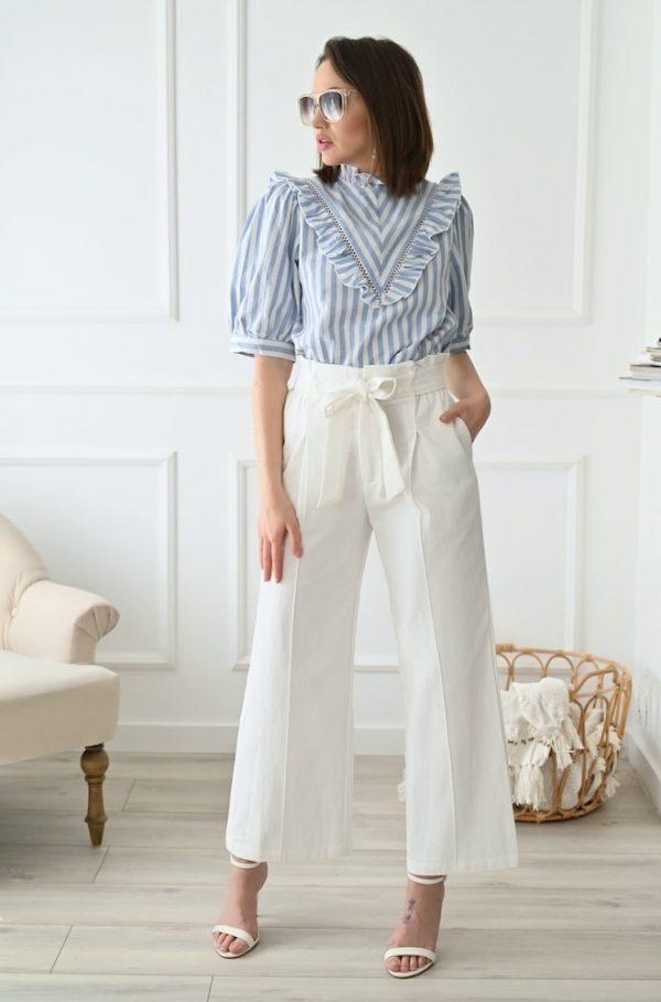 Pantalon blanc Romeo