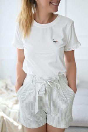 Tee shirt blanc Auren
