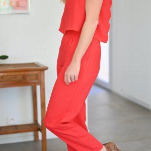 Combinaison Rouge Daphné