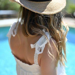 Robe bohème blanche Lucile