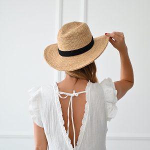Robe longue gaze de coton Paige