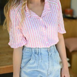 Chemise rayée Lana