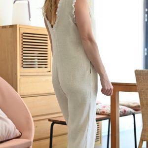 Combinaison coton lin Pam