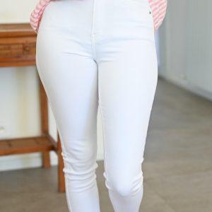 Jean skinny blanc Lenny