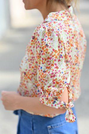 chemise fleurs Celly