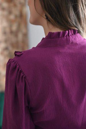 Chemise Colombe violet