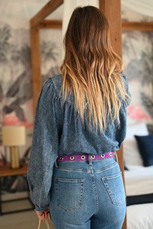 Chemise en jean Megan
