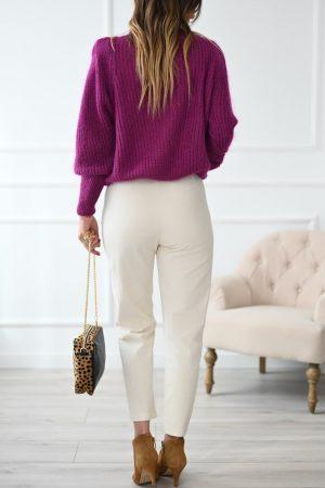 Pantalon en velours écru Soul