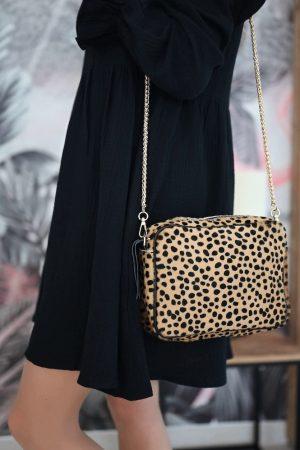 sac imprimé léopard Léopold